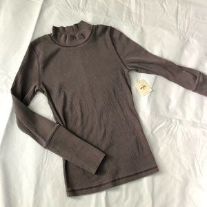 NWT Free People Intimacy Long Sleeve Turtleneck XS